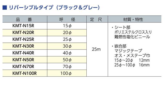 マジックチューブRサイズ表